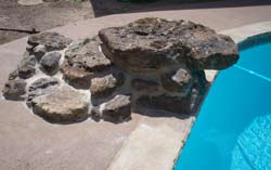 diving rock for your pool