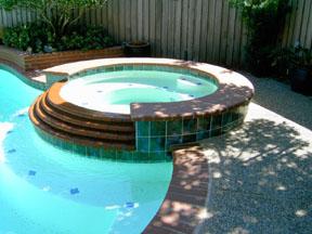 custom tile spa
